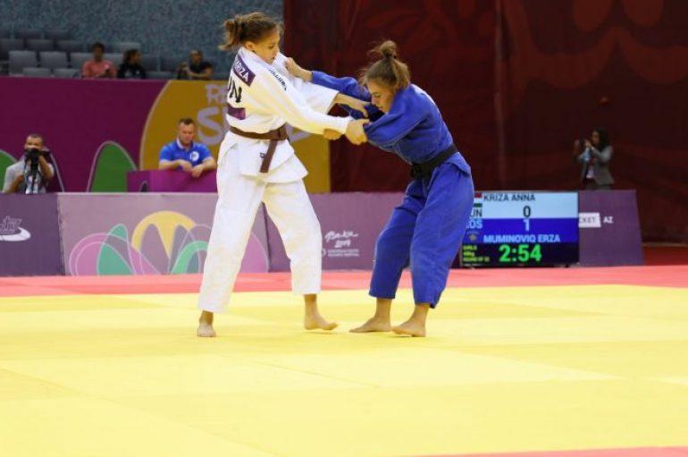 Erza Muminoviq eliminohet në Lojërat Evropiane për të Rinj