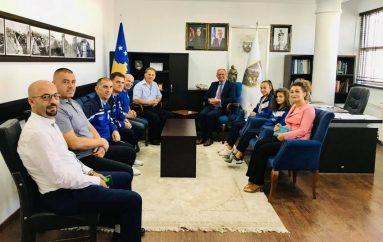 Agim Aliu i siguron mbështetjen KK Kastriotit