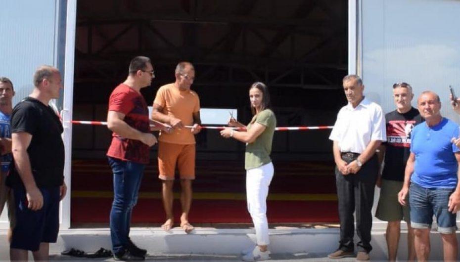 Kelmendi preu shiritin në palestrën që mban emrin e saj në shtetin shqiptar!