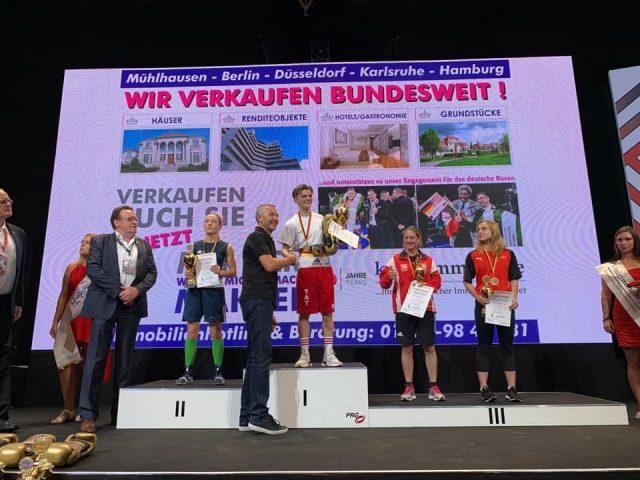 Azize Nimani kthehet për titullin e shtatë gjerman