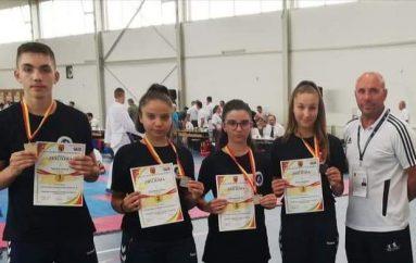 Hamza Zylali medalje të art, në Kampionatin zgjedhor në karate