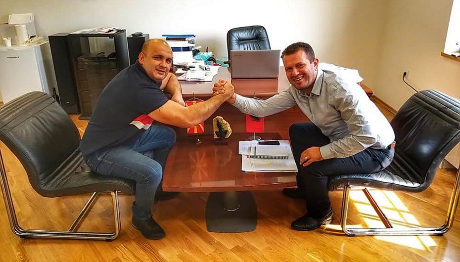 Faton Salihu pritet nga zëvendës drejtori i ARS, Izmit Nura