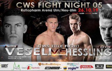 """Shkodran Veseli lufton për titull bote """"CWS Title Fight"""""""