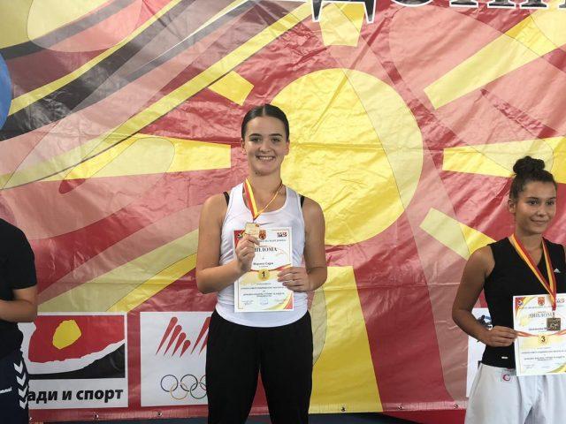 Sajra Morina tani kërkon medaljen botërore