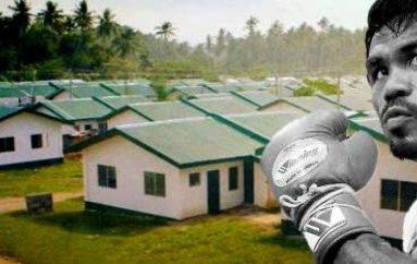 Pacquiao ndërton falas 1.000 shtëpi
