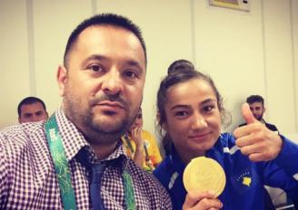 Kuka i kënaqur me medaljen e Majlinda Kelmendit