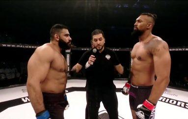 MMA: Vetëm tetë sekonda dhe 'Hulku egjiptian' përfundon në dysheme
