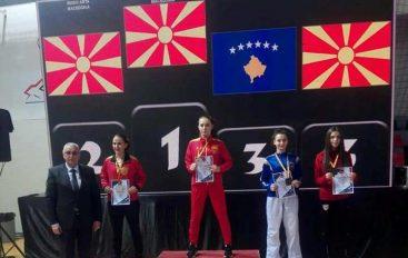 Rudina Aliu shkëlqen në turneun ballkanik