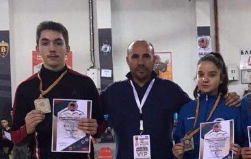 """Dy medalje Ballkanike për sportistët e """"Drini-it"""" nga Struga"""