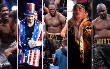 Renditja e top pesë boksierëve në peshat e rënda – Ruiz i pesti, Fury i dyti
