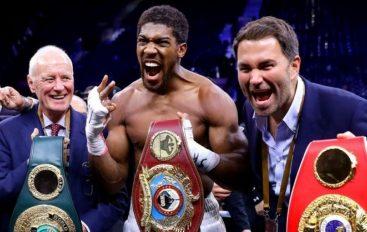 Fitoi apo humbi, Joshua do të duelojë ndaj këtij boksier…