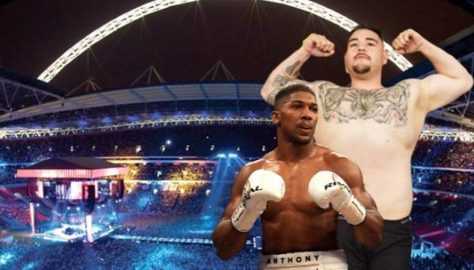 Dalin pamjet e para të arenës ku do të ballafaqohen Joshua vs Ruiz