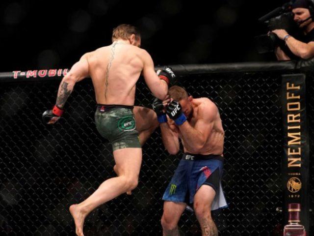 McGregor  Ato goditje në krah të thyen apo