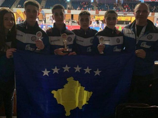 Taekwondistët e rinj të Kosovës fituan tri medalje në  German Open 2020