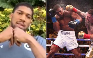 Joshua zbulon boksierin me goditjen më të fuqishme që është përballur