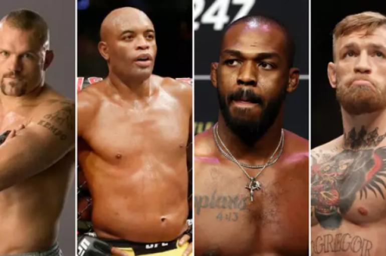 Lista me 60 yjet më të mëdhenj histori të UFC