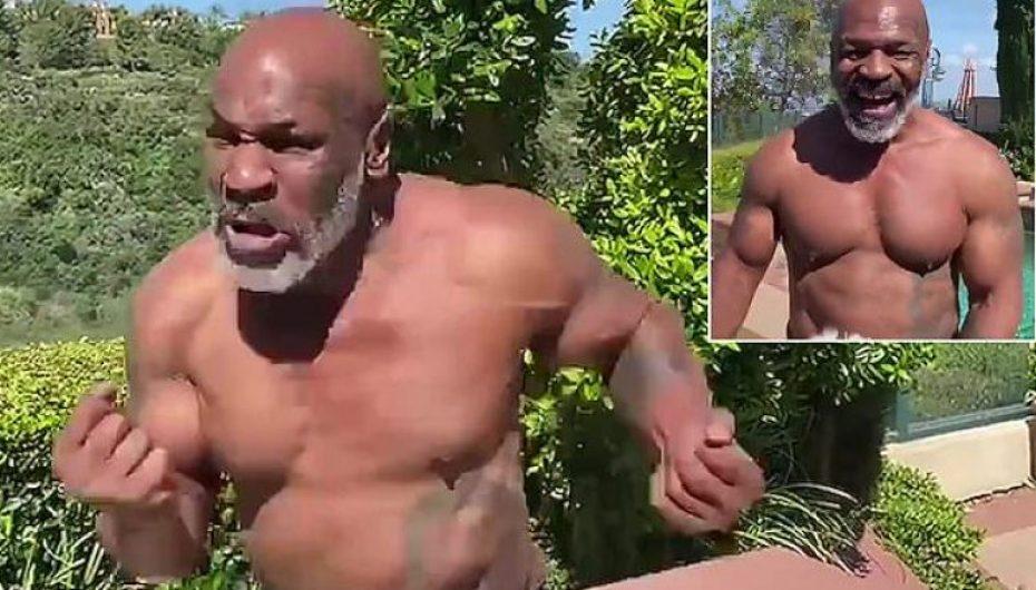 Tyson publikon video, gati për rikthim në boks
