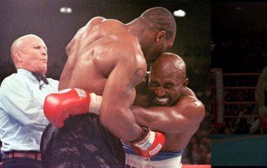 Holyfieldi i gatshëm për një meç të tretë me Tysonin