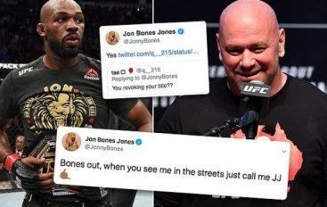 Jones pyetet se nëse do të heq dorë nga titulli i UFC – surprizon me përgjigjen e tij