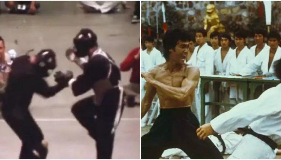 Pamjet e mahnitshme që tregojnë përballjen e parë reale dhe të vetme të Bruce Lee