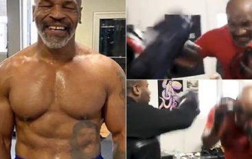 Tyson tregon se sa peshë ka humbur për tu rikthyer në ring