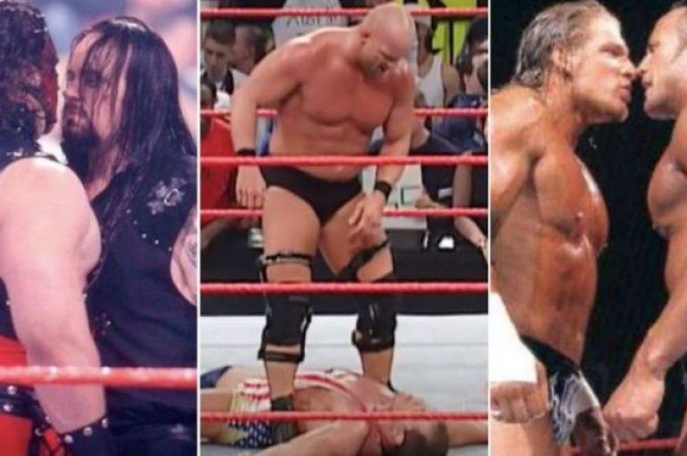 Top 10 përballjet më të zjarrta mes legjendave të WWE-së