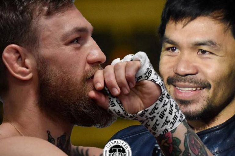 McGregor njofton se do të përballet me Pacquiaon