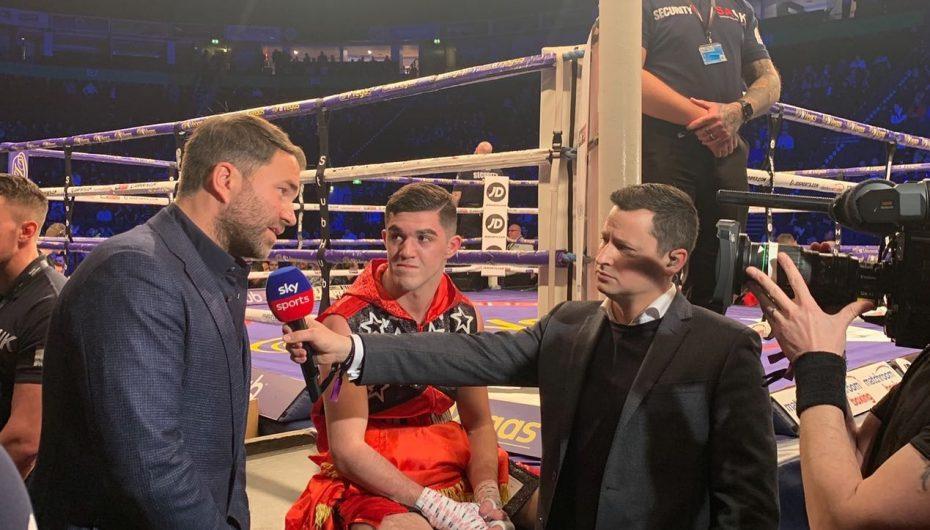 Mati vazhdon me fitore në boks profesionist