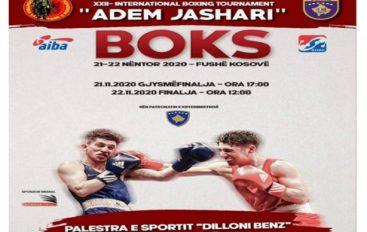 """Më 21-22 nëntor mbahet turneu ndërkombëtar i boksit """"Adem Jashari"""""""