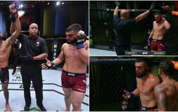 Debutim i tmerrshëm i Ramiz Brahimajt në UFC