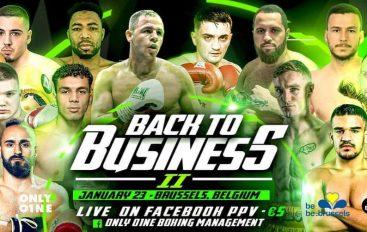 Spektakël i madh në Brussel ku paraqiten edhe gjashtë boksier shqiptar