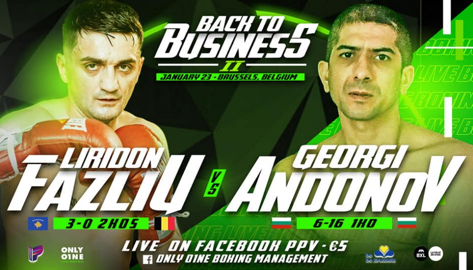 Liridon Fazliu pret duel interesant me bullgarin, Georgi Andonov