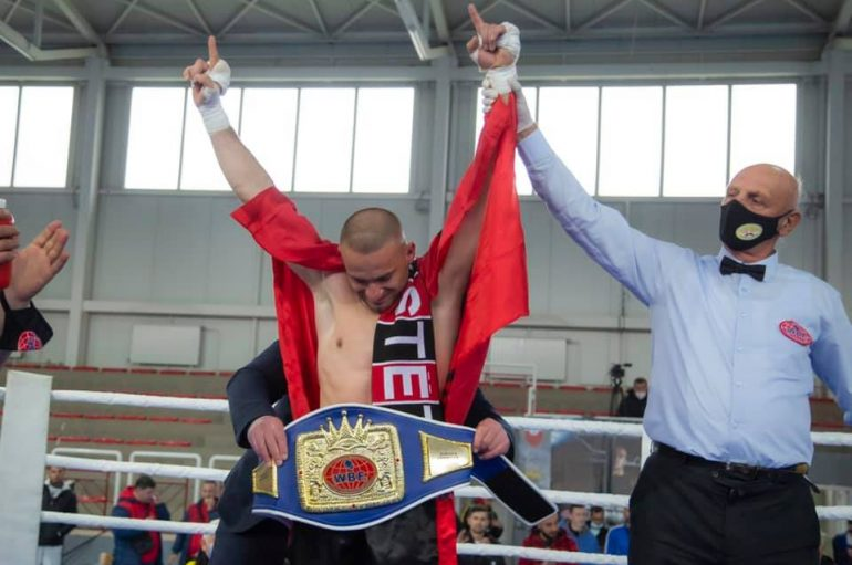 Lulzim Ismaili, kampion i Europës në WBF