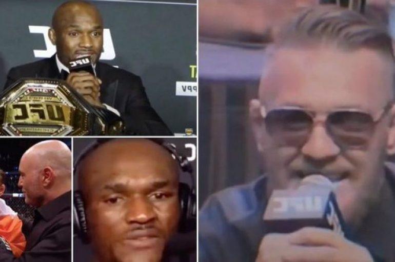 Usman akuzohet se po kopjon Conor McGregorin në karrierën e tij në UFC