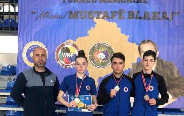 "KK ""Kushtrimi me tre medalje nga Istogu, Rudina Aliu sërish kampione"