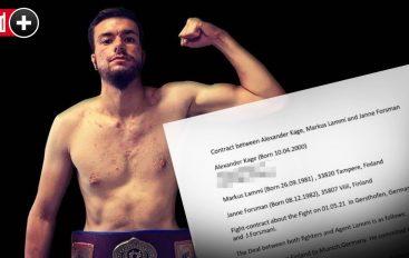 Boksieri profesionist gjerman i cili paguante për të fituar me KO